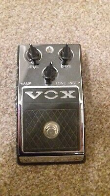Vox V830 Distortion Booster Effects Pedal Unboxed