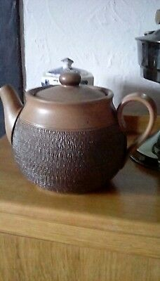 Denby Cotswold Tea Pot stoneware retro