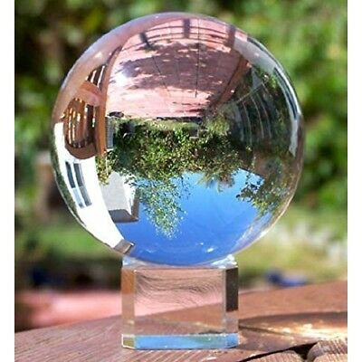 K9 Crystal Photography Lens Ball Photo Prop Background 80mm Lensball Home Decor