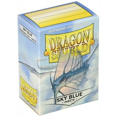 Dragon Shield - Matte Sky Blue - 100 bustine protettive