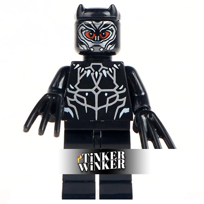 BLACK PANTHER - Minifigur Batman Marvel Spiderman DC Hulk Avengers Custom Design