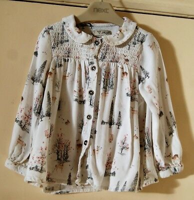 Baby Girl's Cute Blouse by Next size 12-18 mths