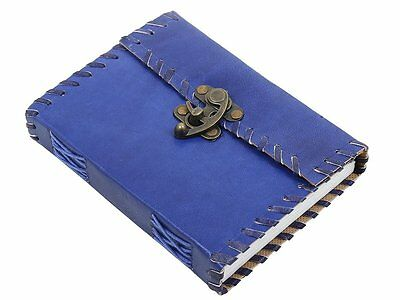 7x5'' Leather Notebook Handmade Journal Diary Indian Vintage Office Notebook