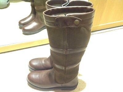 Shires Moretta Nella Long Boots Country Riding Boots Size8/42 Reg RRP £149.99