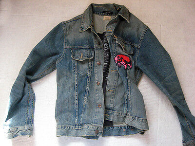Trunk; Pink Floyd, Animals 77, Roadie-Jeans-Jacket, Work of Art! Raw!