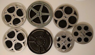 Collection of 7 x 9.5 mm vintage amateur home movies / films