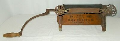 Vintage Sears, Roebuck & Co. Wringer No. 05905 Antique Chicago, Ill