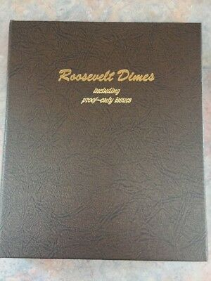 Roosevelt Dime Collection Lot Of 87 Coins In Dansco 8125 Album
