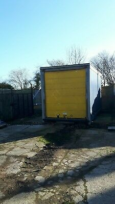 container lorry body shipping container curtain sider 16 foot by 8