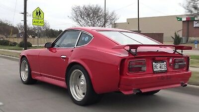 1970 Datsun Z-Series LOW RESERVE mild cosmetic project Street Rod/Track TREET LEGAL/RACING BUILT GM 302 WILLWOOD 4-WHEEL DISC VINTAGE BODY KIT CAGE
