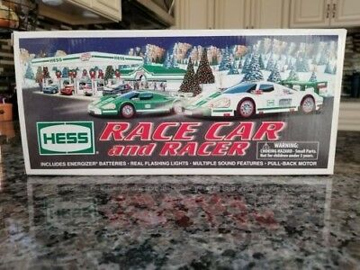 2009 Hess Toy Truck Race Car And Racer