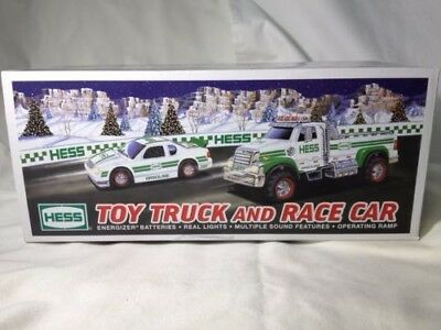 NEW 2011 Hess Toy Truck and Race Car NEW