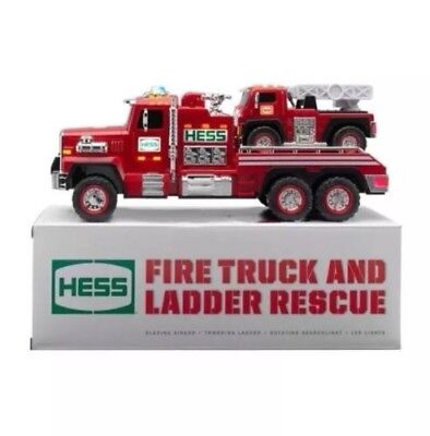 New 2015 51st Hess Collectible Toy Fire Truck and Ladder Rescue NIB NEVER OPENED