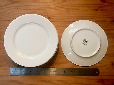 Rosenthal Porcelain Classic Rose Collection - Small white side plates (set of 6)