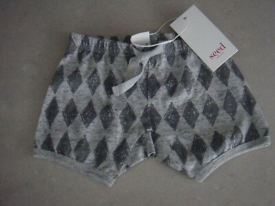 Seed Heritage Baby Shorts Size 00 Bnwt