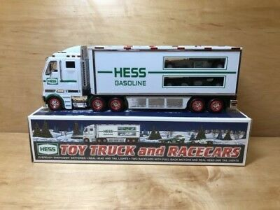 Hess Toy Truck and Racecars 2003 NEW IN BOX