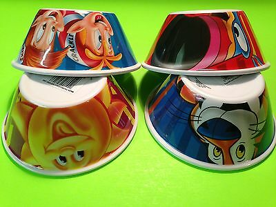 T552 Kellogg's Cereal Unused Collectible Bowls Brand New 2016 Set Tony The Tiger