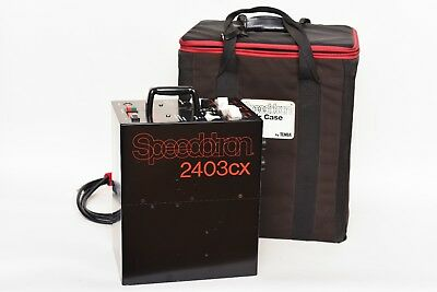 Speedotron Black Line 2403CX power pack w/aircase
