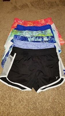 Lot of 6 Girls Old Navy Size 10-12 (Youth Large) Athletic Shorts