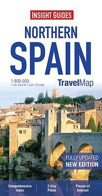 Insight Travel Map: Northern Spain by APA Publications (Sheet map, 2013)