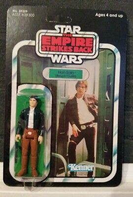 Star Wars Vintage Original *Han Solo Bespin* on 41 Back ESB Card *Very Nice!*