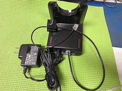 Plantronics Wireless Headset Base CO52 C052 with AC adapter SSA-5W 83648-01
