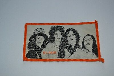 Vintage Original Slade Sew On Patch from 1970's