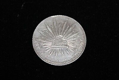8 Reale Silver Libertad 1884 in very nice condition