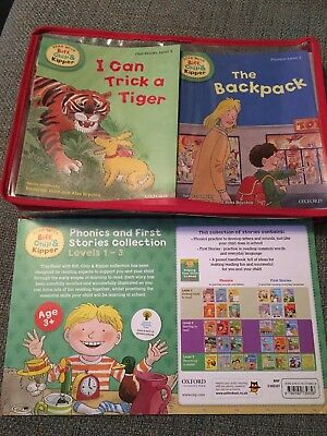 Phonics And First stories Collection 33 Books level 1-3