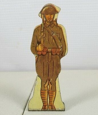 Vintage Metal American Infantry Doughboy Toy Prop Marx Toys Made In Usa  88. 41G