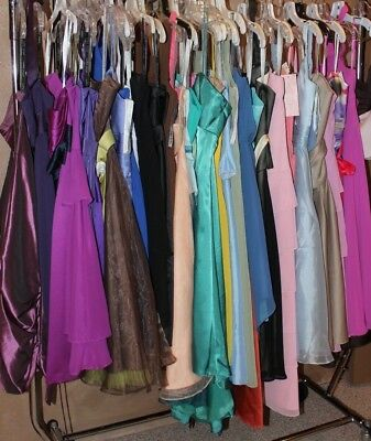 NWT Lot of 37 short formal dresses, bridesmaids, wedding guest dresses, Variety