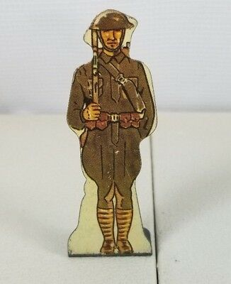 Vintage Metal American Infantry Doughboy Toy Prop Marx Toys Made In Usa  76. 41F