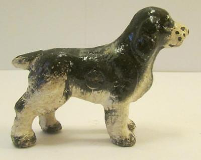 Very Nice Vintage Hubley Brittany Spaniel Cast Iron Paperweight