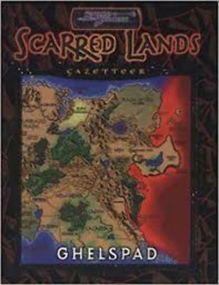 Scarred Lands Gazetteer: Ghelspad (With Poster) (EXC, 2001, Softcover) - Sword &