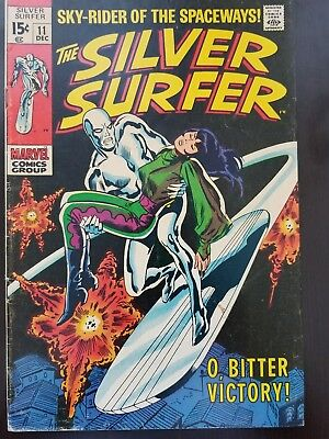 Silver Surfer #11 and #15