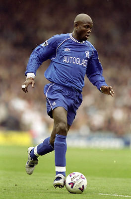 Chelsea FC George Weah Unsigned Photo 6x4