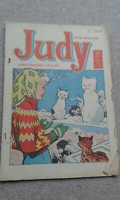 Commemorative presentVintage JUDY Comic - Issue160 February 2nd 1963