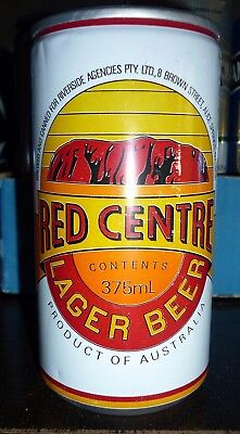 Collectable Beer Cans -  Red Centre Lager Beer  (Alice Springs)