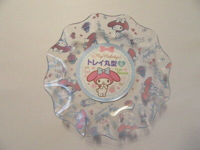 My Melody Tray Round S Size Sanrio Japan F/S