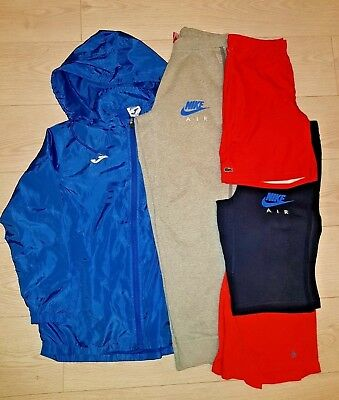 Boys Bundle Age 13-15 Years, Excellent Condition, Nike Lacoste Penguin, 5 items