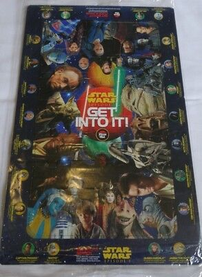 Star Wars Vintage collectible Pizza Hut Puzzle - 90s RETRO Collection