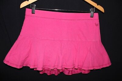 Justice Skirt * Size 18 * Hot Pink Print