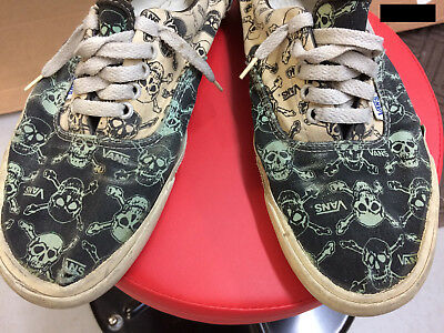 VANS 80s Made In The USA RARE BMX Skate VINTAGE 80's skull shoes size 10