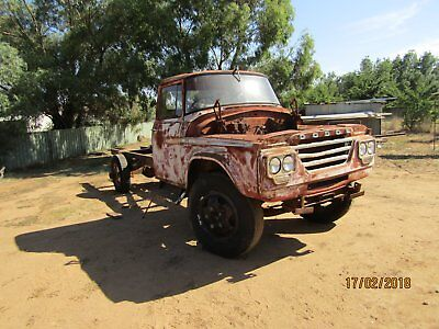Dodge truck cab chassis
