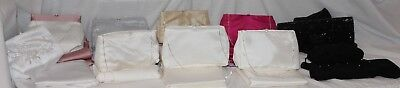 NEW!  Lot of 10 Small Evening bags, bridal purses with shawls, variety colors