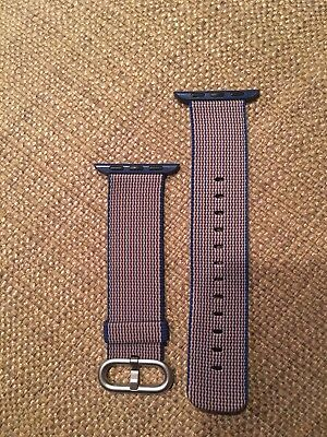 Apple Watch Woven Nylon Band 38 mm, Midnight Blue - Used