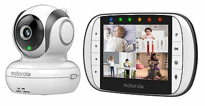 Motorola MBP36S Digital Video Baby Monitor mit StarGrip,Babyphone ,Baby-Überwach