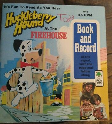 huckleberry hound storybook with 45