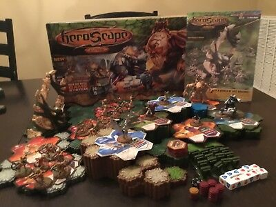 Heroscape 100% Complete Swarm Of The Marro Master Set including book