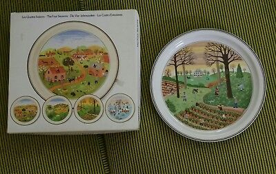 Villeroy & Boch collectors plates - The Four Seasons